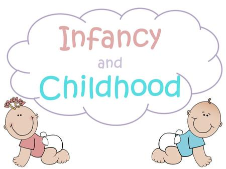 Infancy and Childhood. What are our basic needs for development?
