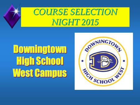 COURSE SELECTION NIGHT 2015 School Counselors u Mr. Jones (A-Col ) u Ms. Krissinger (Com-Ec & TCHS M-Z) u Mr. Criswell (Ed - Jan & TCHS A-L) u Mrs.