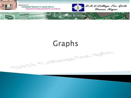  What is a graph? What is a graph?  Directed vs. undirected graphs Directed vs. undirected graphs  Trees vs graphs Trees vs graphs  Terminology: Degree.