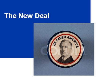 "The New Deal US History McIntyre. 2 The ""Old Deal"" What? President Hoover's reaction to the Great Depression President Herbert Hoover."