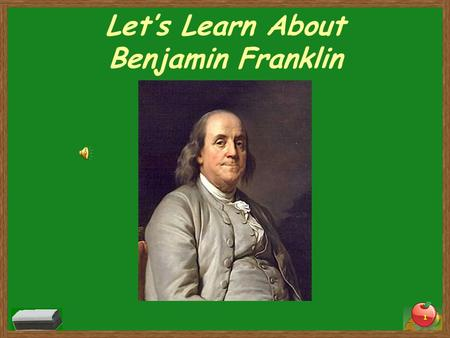 Let's Learn About Benjamin Franklin 1. Vocabulary Words Almanac- a book that contained information about the weather, recipes, poems, jokes, and advice.