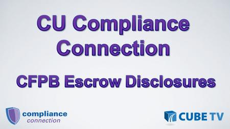 The Escrow Closing Notice must be provided to a member prior to cancelling their escrow account if an escrow account was established in connection with.