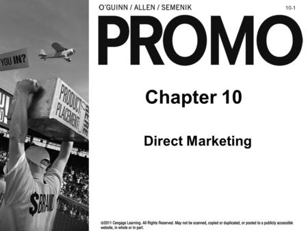 10-1 Chapter 10 Direct Marketing.