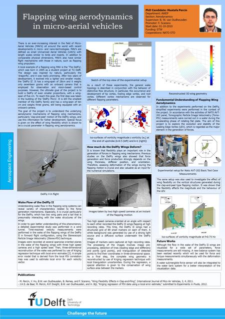 Flapping wing aerodynamics in micro-aerial vehicles There is an ever-increasing interest in the field of Micro- Aerial Vehicles (MAV's) all around the.