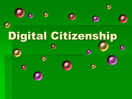 Digital Citizenship. Topics  Netiquette  Copyright and Fair Use  Plagiarism  Safety on the Internet  Safety on your Computer.