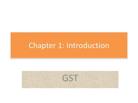 Chapter 1: Introduction GST. Outline Definitions An Engineer and a Scientist The How of Engineering Engineering functions About Geospatial Engineering.