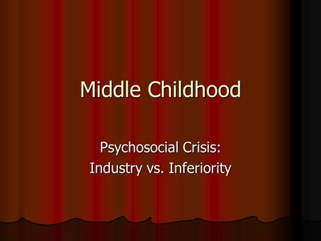 childhood crisis relationships Researchers replace midlife myths with facts has written noting that most researchers focus on childhood, adolescence or old age focuses on how job and relationship choices made earlier in life affect baby boomers' psychological well-being at midlife.