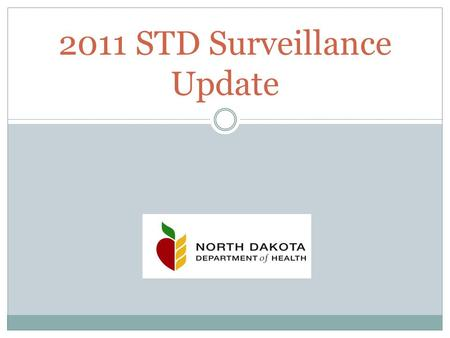 2011 STD Surveillance Update. Successful Prevention of STDs Est. 19 million STIs in the U.S. each year costing $12 - $20 billion in lifetime direct medical.