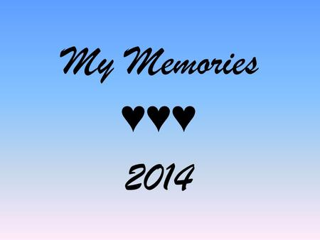 My Memories ♥♥♥ 2014. Diary of Polish – Cypriot exchange 2013/2014 part 2 – Poland.