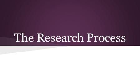 The Research Process. Researching a Historical Figure -Early life/bio -Background of their significant contribution to society -Significant contributions/work/events.