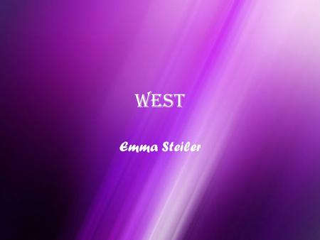 West Emma Steiler. Location #1 Major Cities– Los Angeles, San Francisco, and Riverside Major Landforms- Badlands, Great Plains, Pacific Ocean, and Rocky.