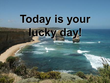 Today is your lucky day!. Introduction You have just won a lottery and the prize is a a ten-day journey for you and your friends. You get $4000 each.