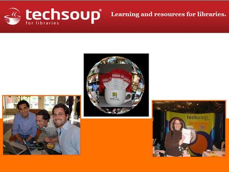 Talks!. TechSoup for Libraries