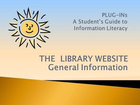 THE LIBRARY WEBSITE General Information. From the HCT portal, click on Library. Then, FALCON Library Catalogue.