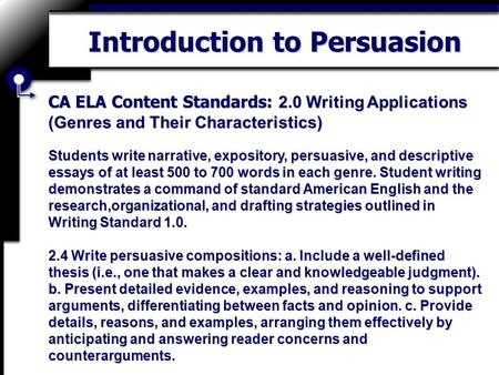 characteristics of the essay genre