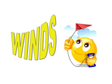 What is wind? HORIZONTAL MOVEMENT OF AIR FROM AN ARERA OF HIGH PRESSURE TO AN AREA OF LOW PRESSURE.