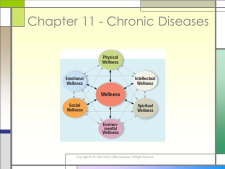 Copyright © 2012 The McGraw-Hill Companies. All Rights Reserved. Chapter 11 - Chronic Diseases.