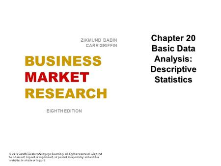 BUSINESS MARKET RESEARCH
