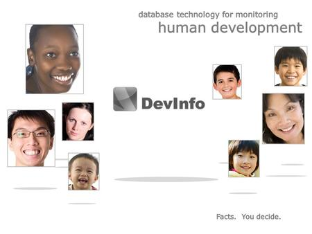 Dev Info – A common platform to track human development.