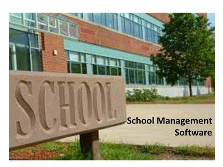 School Management Software. Our specialty 15+ School/Colleges installations 15+ years of experience in serving educational sector (school & colleges)