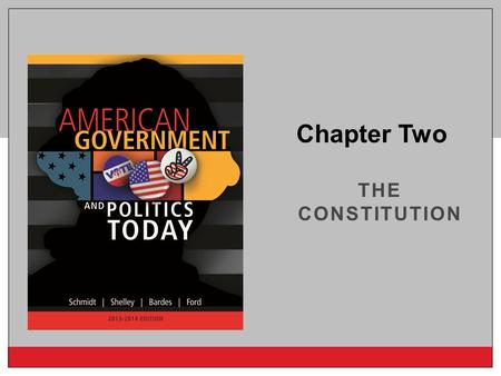 Copyright © 2014 Cengage Learning THE CONSTITUTION Chapter Two.