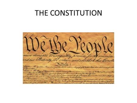 THE CONSTITUTION. How The Constitution Is Set Up The Constitution is divided into: – Articles – Sections – Clauses – Amendments.