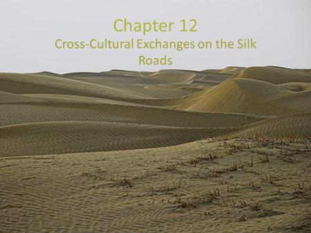 Chapter 12 Cross-Cultural Exchanges on the Silk Roads By Connor Gulick.