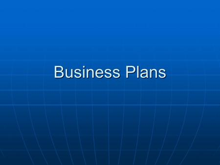 Business Plans. A business plan enables you to work out the viability of your business A business plan enables you to work out the viability of your business.