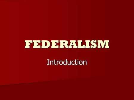 federalism from its beginning to the Fiscal federalism in nigeria: an analysis of issues and challenges  due to its peculiar evolution,  fiscal federalism in nigeria: an analysis of issues and.