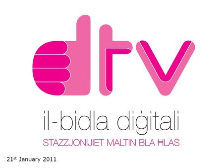 1 21 st January 2011. Contents 1. The Digital Switchover 2. Implementation 3. Viewer Equipment 4. Communications 5. Discussion: Q and A Session 2.
