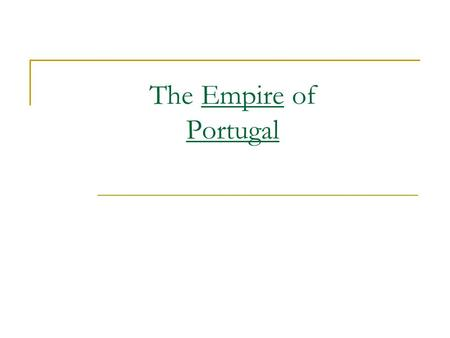 The Empire of Portugal. The Crusades The Crusades (1096 to 1272) were military expeditions sent by different Popes (leaders of the Roman Catholic Church)