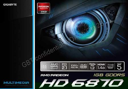 Date: 2015/10/17 Main Features AMD RADEON HD 6870 GPU (Barts XT) Support DriectX 11/ AMD HD3D 15 % better performance than generic GTX 460 1GB AMD's 3rd.