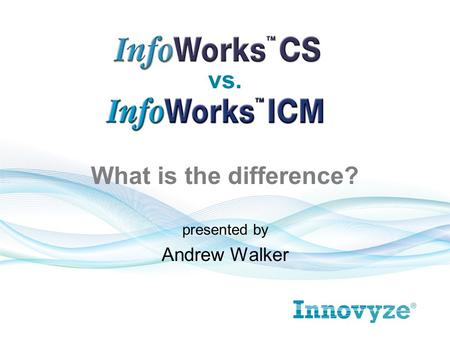 Presented by Andrew Walker vs. What is the difference?