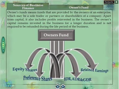 Owner's funds means funds that are provided by the owners of an enterprise, which may be a sole trader or partners or shareholders of a company. Apart.