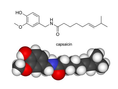 Capsaicin. Scoville heat unitsExamples 15,000,000– 16,000,000 Pure capsaicin [9]capsaicin [9] 8,600,000–9,100,000 Various capsaicinoids (e.g., homocapsaicin,