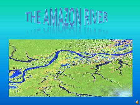 Amazon Factfile Introducing the Amazon Amazonian wildlife River Usage Pollution Fascinating Facts Conclusion Credits.