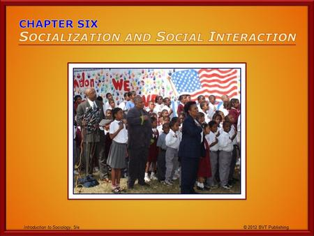 Introduction to Sociology, 5/e © 2012 BVT Publishing.