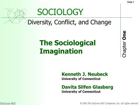 SOCIOLOGY Chapter 1, section 1 - PowerPoint PPT Presentation