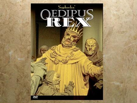 the irony of truth in oedipus the king by sophocles Oedipus the king character analysis oedipus themes and ideas of irony and fate happened over everybody to palace to discover the truth sophocles in generally.