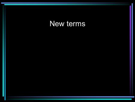 New terms. Orchestration Orchestrator Changing piano scores into orchestra scores.