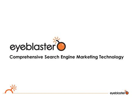 Comprehensive Search Engine Marketing Technology.