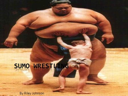 By Riley Johnson. History  Sumo has been played for over 2000 years  Originally performed to entertain their gods  Originated in Japan  It is a very.