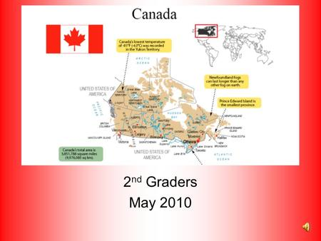 Canada 2nd Graders May 2010.