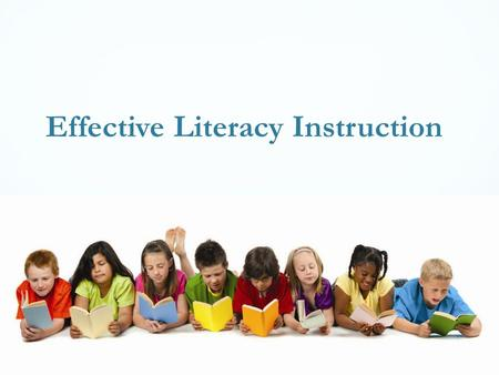 Effective Literacy Instruction. Problem Solving Process.