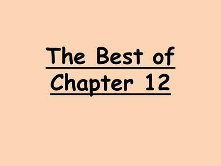 The Best of Chapter 12. Financial Assets and the Financial System For people to use the savings of others, the economy must have a Financial System –