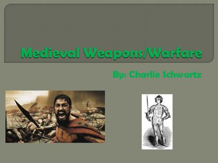 By: Charlie Schwartz  Essential Question: What was the flail used for?  Used to break armor.  Close combat weapon.  Very versatile.  Used with momentum.