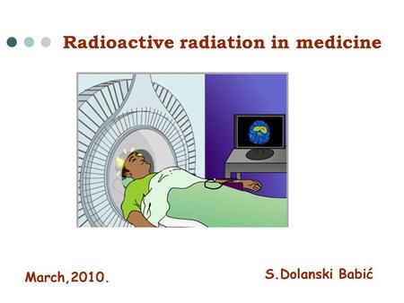 an introduction to the history of nuclear medicine and the use of radioactive tracers Nuclear medicine also offers therapeutic procedures, such as radioactive iodine (i-131) therapy that use small amounts of radioactive material to treat cancer and other medical conditions affecting the thyroid gland, as well as treatments for other cancers and medical conditions.