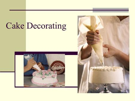 Cake Decorating. Cake Decorating Basics Buttercream icing is the best icing for taste and good decorating results.
