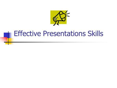 Effective Presentations Skills. Agenda Introduction Planning Your Presentation The Presentation Sequence Creating Effective Visual Aids resentation Techniques.