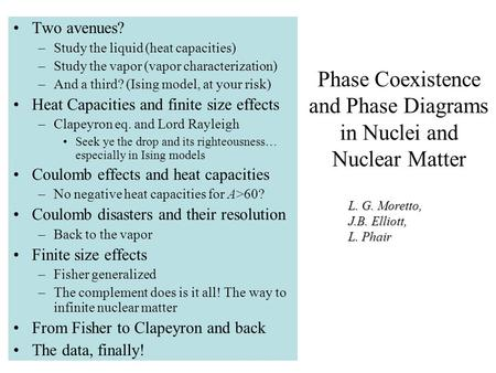 Phase Coexistence and Phase Diagrams in Nuclei and Nuclear Matter